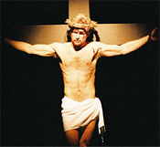 Roger Bradley in the 1996 LADOS production of Jesus Christ Superstar